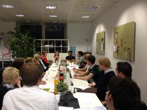 Meeting des Rotaract Club Frankfurt/Main-International