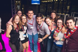 Rotaracter feiern in Aachen auf der Deutschlandkonferenz