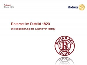 Präsentation bei Rotary
