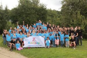 Beim Rotaract KidsCamp in Wiesbaden haben sich über 60 Kinder und mehr als 45 Rotaracter  über strahlenden Sonnenschein gefreut